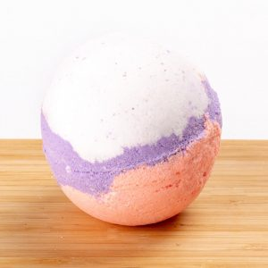 Lavender & Peach Bath Bomb